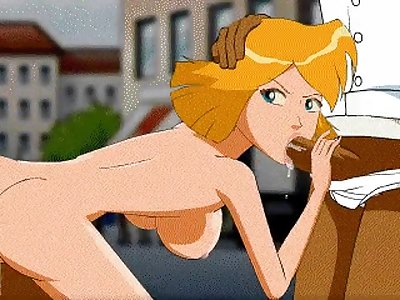 totally spies porn comics