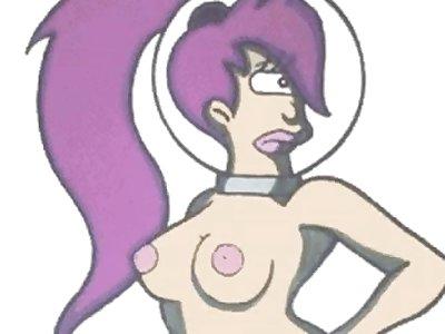 futurama nude
