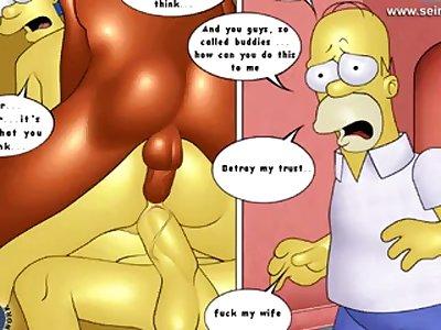 simpsons porn comics