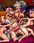 Flintstones throw orgies