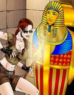Lara Croft Sex Toon