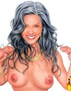 Movie stars pose nude