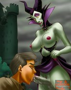 Rather unexpected porn games of Sleeping Beauty
