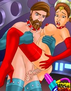 Porn Ahsoka Tano uses brutal strap-on sex toys to make her bitches wail
