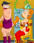 Mr. and Mrs. Turner from Fairly OddParents porn get it off on being electroshocked