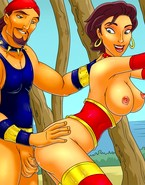 Sindbad raiding submissive hoochie's holes