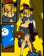 Bound and banged witch