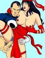 Fantastic super heroes hardcore bang