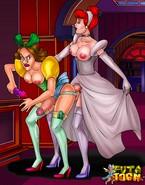 Explicit futanari version of Cinderella
