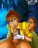 Jane fucks Tarzan's shaft and a banana