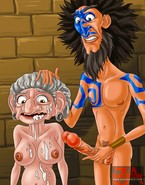 MILF and granny porn from Brave cartoon