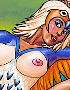 He-man and his hos