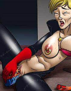 Famous drawn hotties are waiting for hard fuck