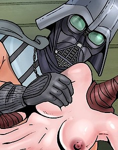 Wild fuck with mouthwatering Star Wars hotties