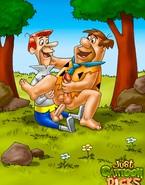 Flintstones go gay