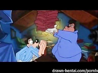 Disney Porn video: Goof Troop sex scene