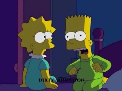 The Simpsons Lisa and Bart goes sexual