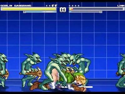 Mugent Spotlight - Link (from Redflash) vs Goblin Gangbang