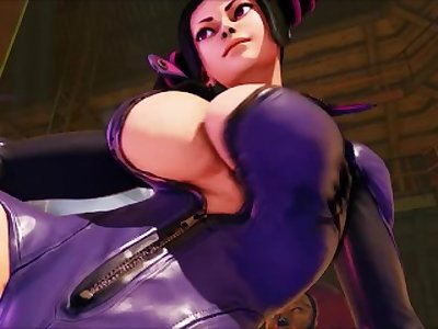 Big tittied and big ass dominatrix Juri