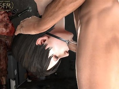 Shibari-SFM - 003 - Chris x Ada - Angle 2 - Version 1