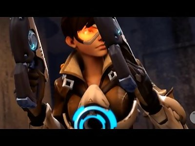 overwatch tracer and widowmaker