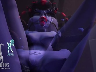 [IKstudios] Overwatch Bondage Final Cut 2 Release HD Black Widow