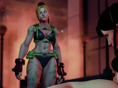 Chun Li Nude and Oiled Mod Street Fighter V