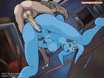 Starwars Sex: Sebulba fucks his bitch