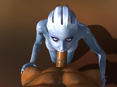 liara t'soni POV blowjob