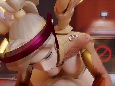 Mercy Cowgirl (SFM Animation W/Sound) Overwatch