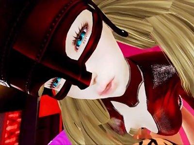 Ann Takamaki finally puts out (Honey Select: Persona 5)