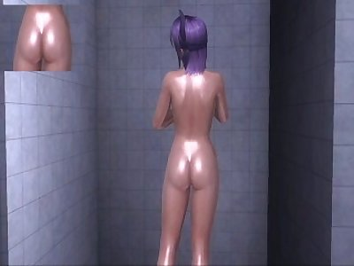 Dead or Alive Xtreme 3 PC - Shower Scene Nude Ayane