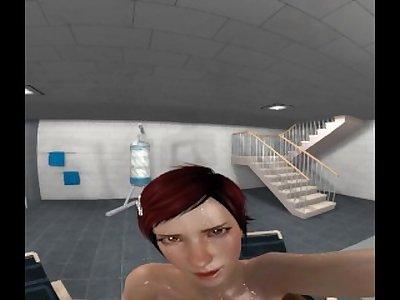 DOA5 Mila handjob VR test