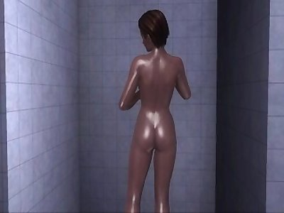 Dead or Alive Xtreme 3 PC - Shower Scene Nude Lisa