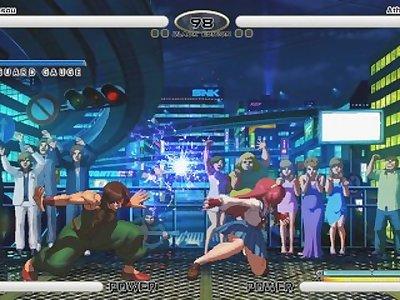 KOF XIII hentai Athena vs Kensou