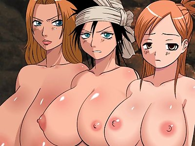 bleach characters naked