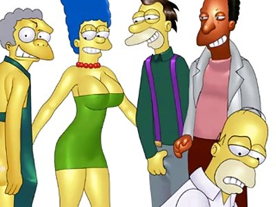 marge and homer hentai