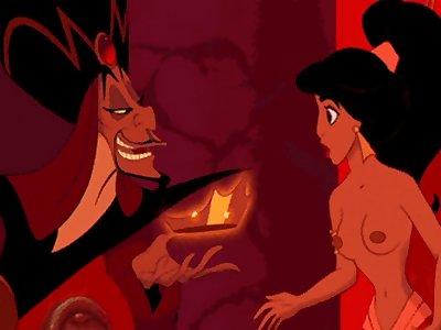 422522  AdamantP Aladdin Jafar Jasmine Animate Hentai