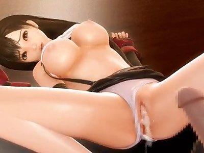 final fantasy tifa hentai