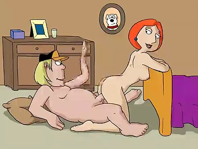 37593  Chris Griffin Family Guy Lois Griffin A Hentai