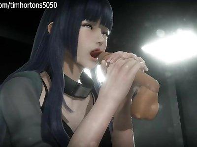 Naruto Hinata Hyuga Hentai Porn Part 2