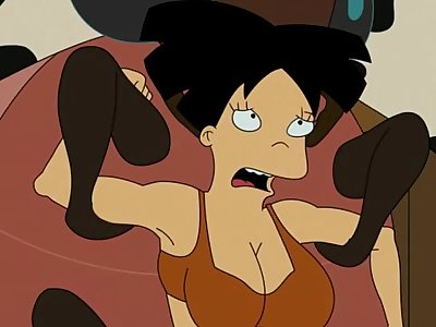 FUTURAMA PORN - Duties on the ranch