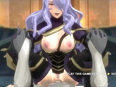 Fire Emblem Warriors Camilla Hardcore Fucked Big Cock Animation POV