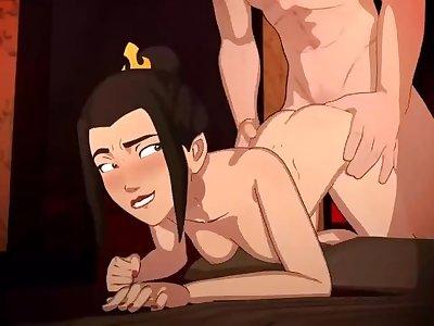 Azula satisfying herself - full animation by SkuddButt