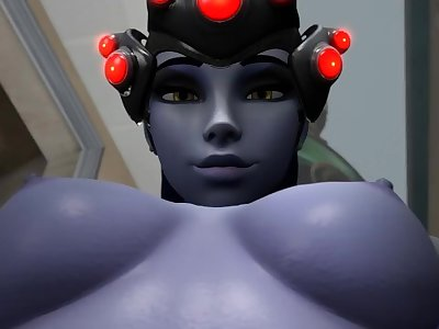 Giantess Widowmaker Anal Vores Sombra