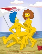 Marge Simpson getting fucked