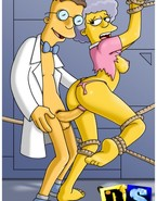 Dirty show from The Simpsons