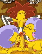 Cockteasers from Simpsons in actionJuicy babes from The Simpsons blowing and riding cocks