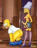 Shemales porking Homer Simpson