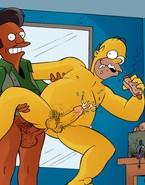 Homer Simpson Loved Gay Sex